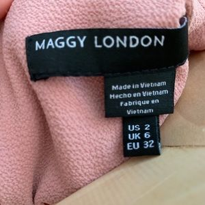 Maggy London Dresses - Maggy London Shift dress w pleated Bell Sleeves
